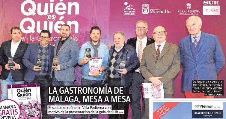 Premio Gastronomia  DIARIO SUR